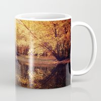 wisconsin Mugs featuring Wisconsin River by KunstFabrik_StaticMovement Manu Jobst