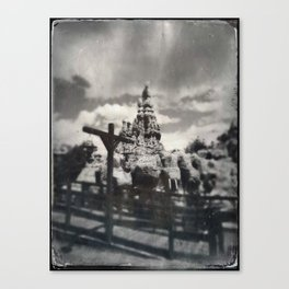 Thunder Mountain by Topher Adam 2017 Canvas Print