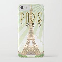 Paris 1930 iPhone Case