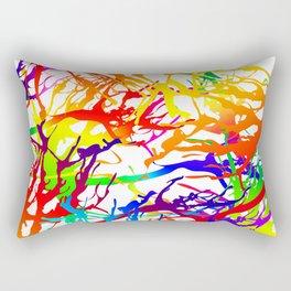 Tickled - white Rectangular Pillow
