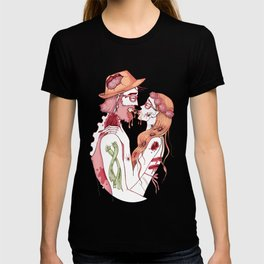 Zombie Hipsters in Love T-shirt