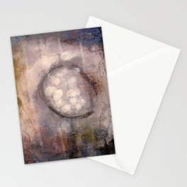 Lost Eye - Mixed Media Acrylic Abstract Modern Art, 2009 Stationery Cards
