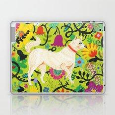 Spring Jindo Dog Laptop & iPad Skin