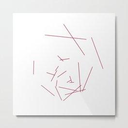 #328 Hexaboom – Geometry Daily Metal Print