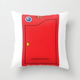 Pokedex Throw Pillow