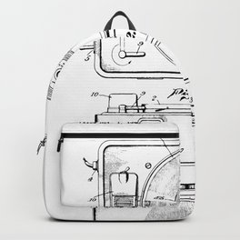 Turntable Patent Backpack