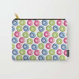 Donuts 2 Pattern Carry-All Pouch