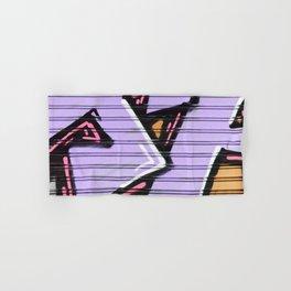 Street Art - Violet Urban Collection Hand & Bath Towel