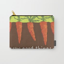 carrots - grow good things Carry-All Pouch