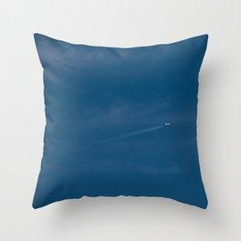 Blue Sky  Throw Pillow