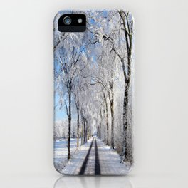 Winter-avenue iPhone Case