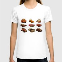 cars T-shirts featuring 9 Cars by MikiMikibo