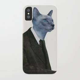 Cat Chat iPhone Case