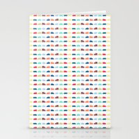 cars Stationery Cards featuring Cars by Yasmina Baggili