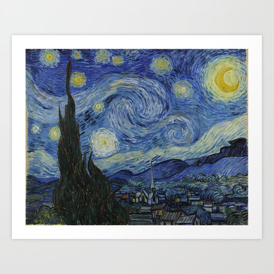 The Starry Night by vincentvangogh