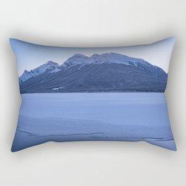 frosty ending Rectangular Pillow