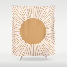 Cheerful Sun Shower Curtain