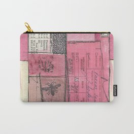 Flying Colors in Pink Carry-All Pouch