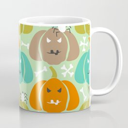 Retro Halloween pattern Coffee Mug