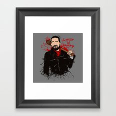 Lucille is coming Framed Art Print