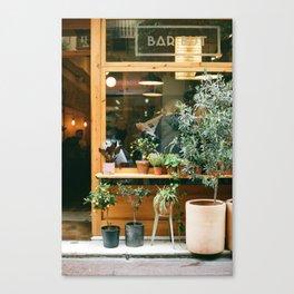 Tapas Bar in the Casa Gracia Neighborhood, Barcelona Canvas Print