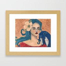 Izzy and Iggy Framed Art Print