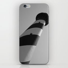 Ocracoke Lighthouse at an Angle iPhone Skin