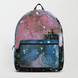 buildings architecture galaxy Backpack