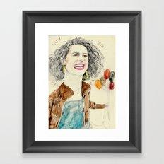 ilana Framed Art Print