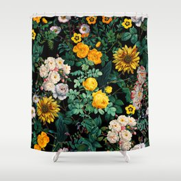 Midnight Garden XX Shower Curtain