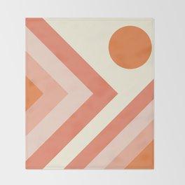 Abstract geometric background #society6 #decor #buyart #artprint Throw Blanket