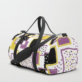 fuzzy rectangles Duffle Bag