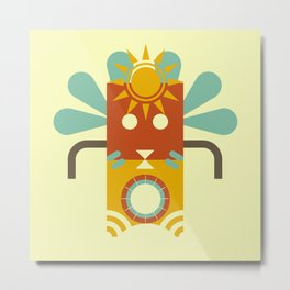 Tiki Tiki Metal Print