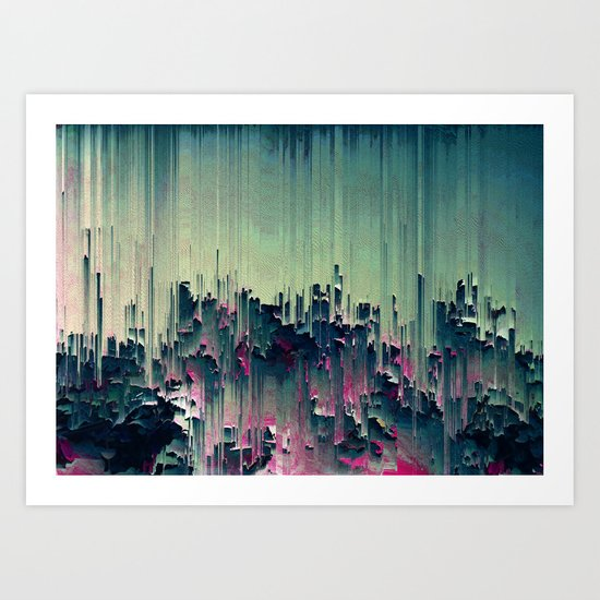 Plantscape Art Print