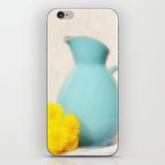 The Yellow Mums iPhone & iPod Skin