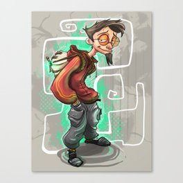 The teenage wizard  Canvas Print