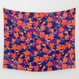 Japanese Garden: Blossoms Dk Wall Tapestry