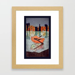 Small Boat  Framed Art Print