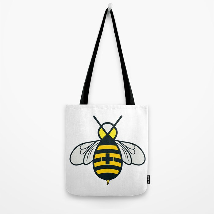 Be positive - Living Hell Tote Bag