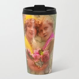 Vintage childhood of the last century Travel Mug