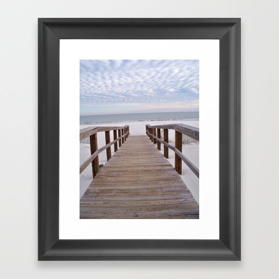 Gulf Shores, Alabama Framed Art Print