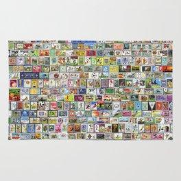 Soccer Stamps Rug