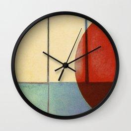 Waning Gibbous Wall Clock