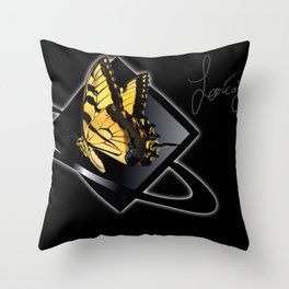 JJ: Logo Throw Pillow