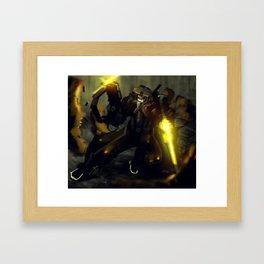 Big Gun 01 Framed Art Print