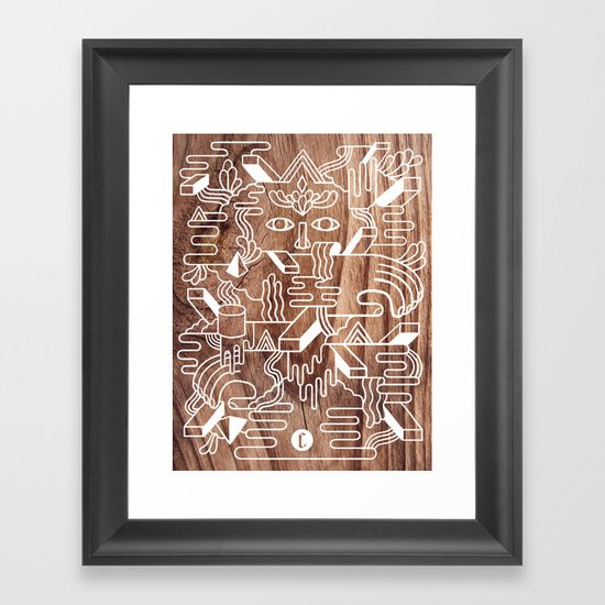 Fever Dreams Framed Art Print