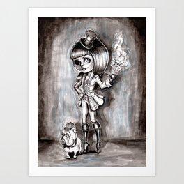 Miss Terry Riddles Art Print