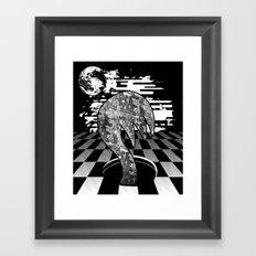 Claw Hole Framed Art Print