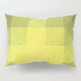 Kryptonite green poly pattern Pillow Sham