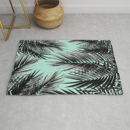Palm Leaf Jungle Vibes #2 #tropical #decor #art #society6 Rug